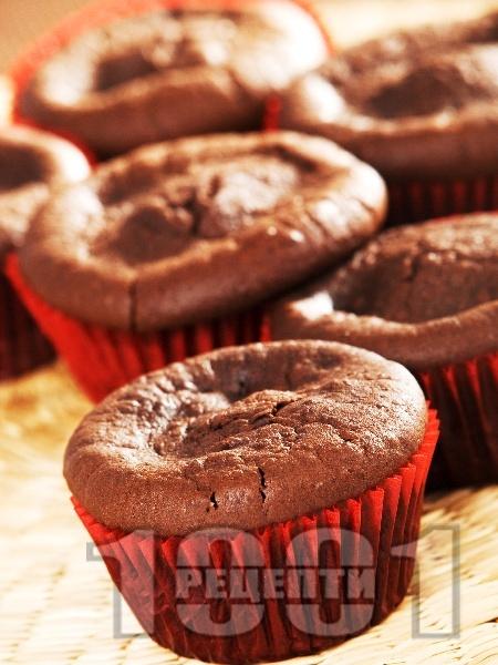 Мъфини с кафе и какао - снимка на рецептата